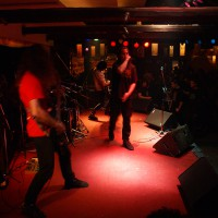 Blustery Caveat Supporting Rotting Christ 2007